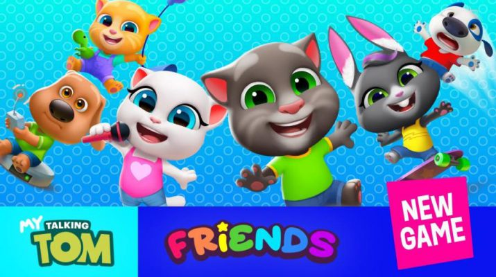 My Talking Tom Friends - New Game