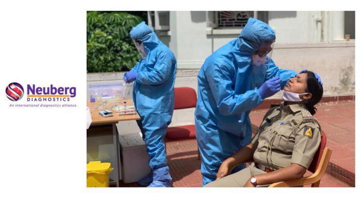 Neuberg Diagnostics - Covid19 testing - Police personnel - Bengaluru Rural District