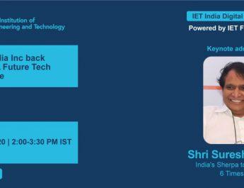 Suresh Prabhu - IET India Digital Conversations