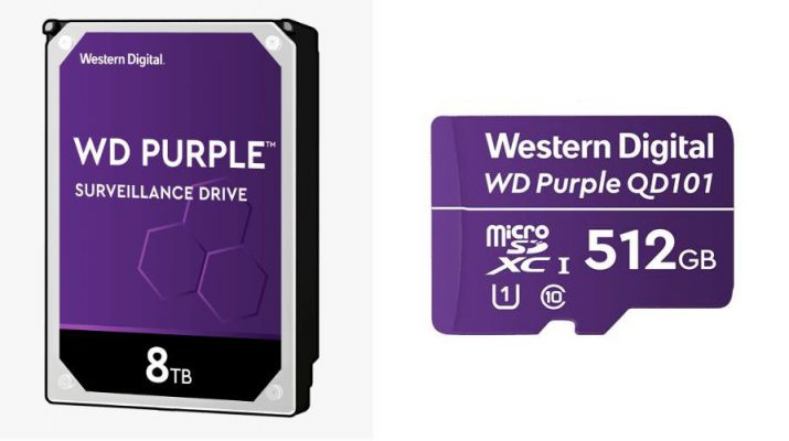Western Digital - Smart Video Security - Storage