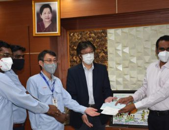 Yamaha Cheque Donation to CM Funds - 2nd June 2020