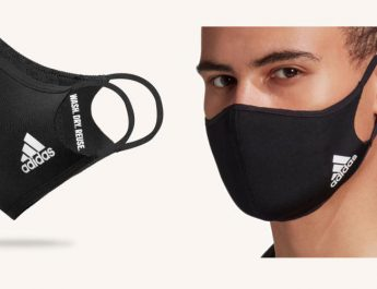 adidas two layered face cover - Black