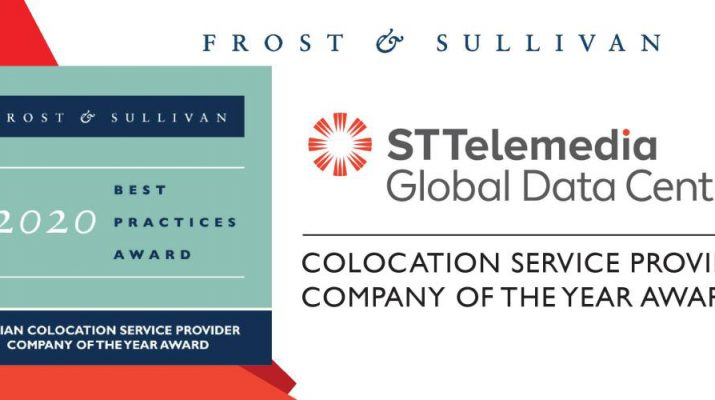 2020 Frost and Sullivan India ICT Best Practices Awards - ST Telemedia Global Data Centres India