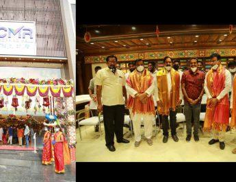 CMR Shopping Mall opened its latest shopping mall at Chintal - Hyderabad - Telangana