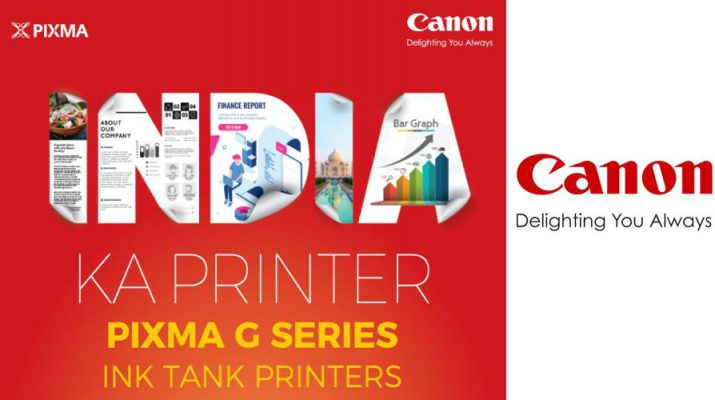 Canon India Pixma G series Printers
