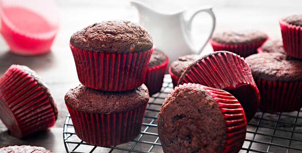Chocolate Prune Muffins Recipe
