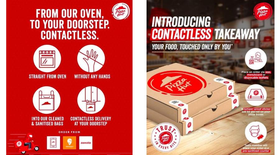 Contactless Delivery - Takeaway by Pizza Hut - Hyderabad