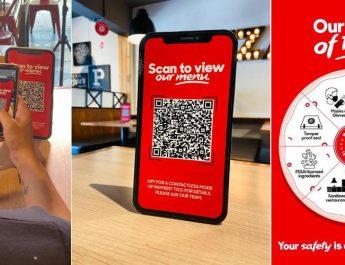 Digital Menu and Payment - Precautionary Measures - Pizzahut