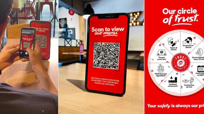 Digital Menu and Payment - Precautionary Measures - Pizzahut