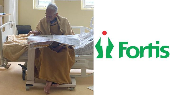 Fortis Hospital - Bannerghatta Road - 97 year old stroke patient