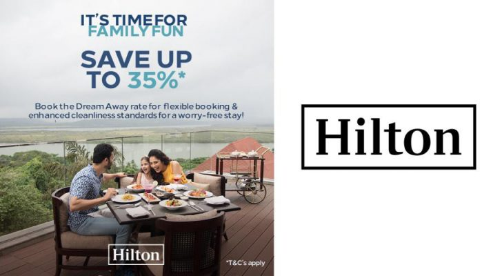 Hilton invites Travelers to Dream Away with its limited time offer