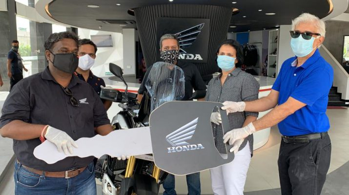 Honda commences deliveries of 2020 Africa Twin Adventure Sports in India
