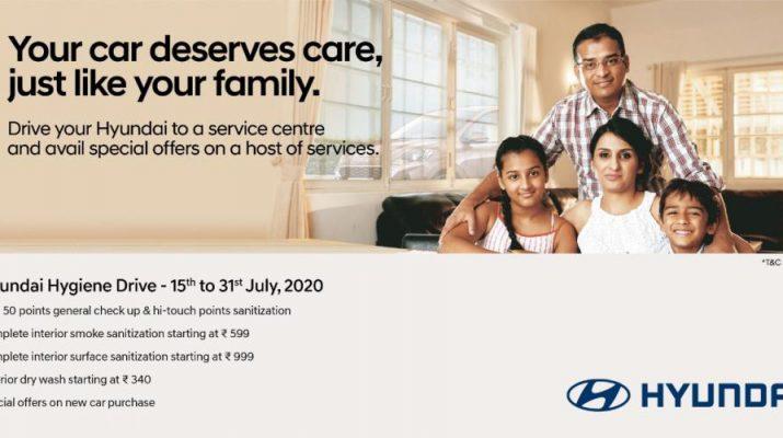 Hyundai Motor India announces Nationwide Hygiene Drive