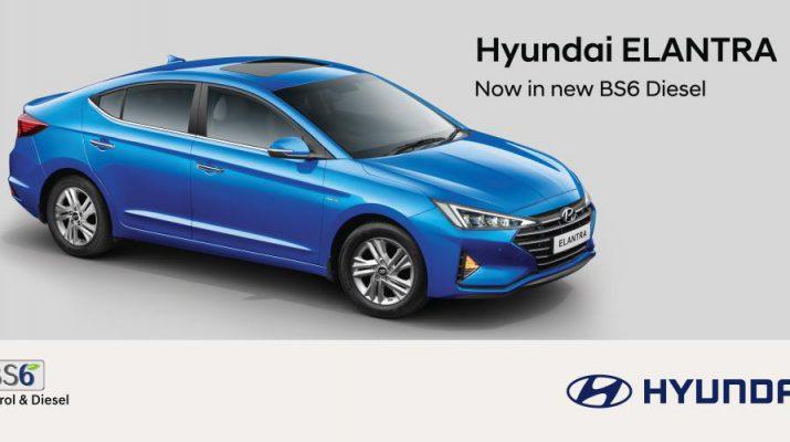 Hyundai Powers ELANTRA with New Diesel BS6 Engine