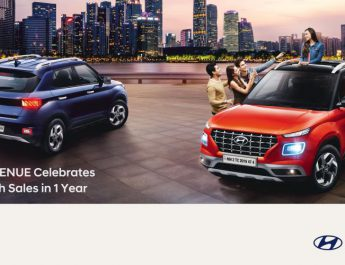 Hyundai VENUE Celebrates 1 Lakh Sales in 1 Year