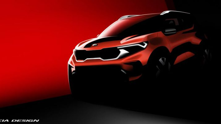 KIA Motors India - Kia Sonet rendering - Compact SUV