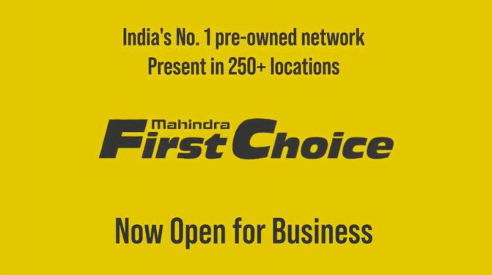Mahindra First Choice - Pre-owned Network