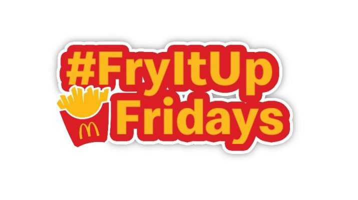 McDonalds FryItUp Fridays