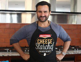 Saif Ali Khan - Britannia Cheese - StarChef