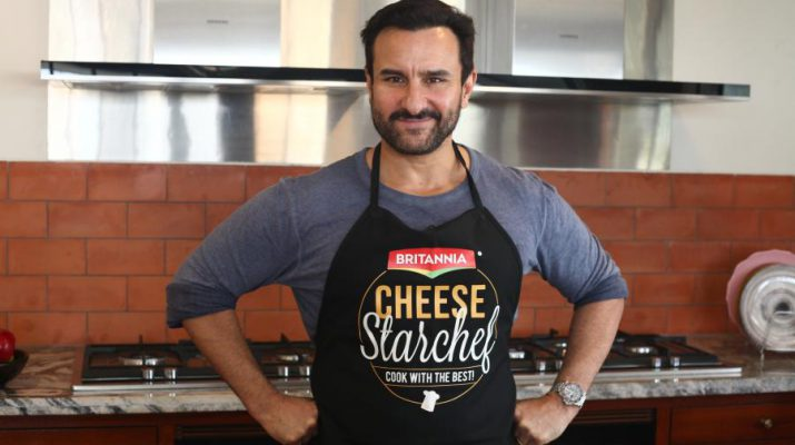 Saif Ali Khan - Britannia Cheese - StarChef