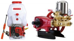 Usha International - SprayMax range of agricultural sprayers to farmers
