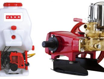 Usha International - SprayMax range of agricultural sprayers to farmers