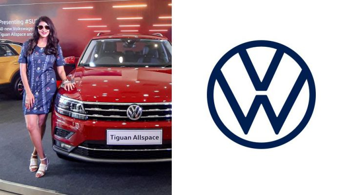 Volkswagen India launches the all-new Tiguan Allspace along with the Telugu celebrity Lakshmi Manchu in Hyderabad