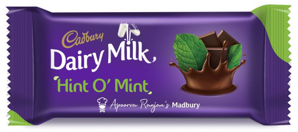 Cadbury Dairy Milk - Hint O Mint - Packshot