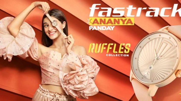 Fastrack Ruffles Collection - Ananya Panday