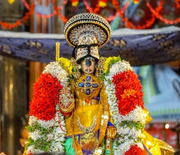 Srirangam Namperumal Navratri Utsavam - Vijaya Dasami 2020