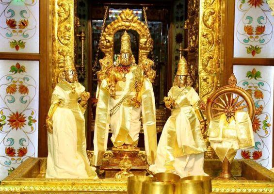 Thirupathi Brahmotsavam 2020 - Chakra Snanam