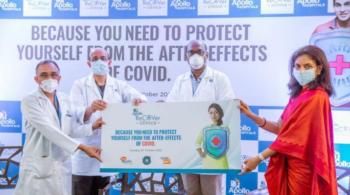 Apollo Hospitals Network Launches Post-COVID Recovery Clinics Web