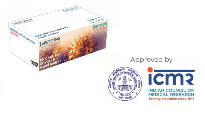 Biocard Pro Covid-10 Rapid Antigent Test Kits - Trivitron Healthcare