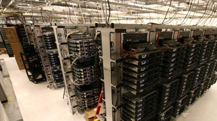 Data Center - Representation only