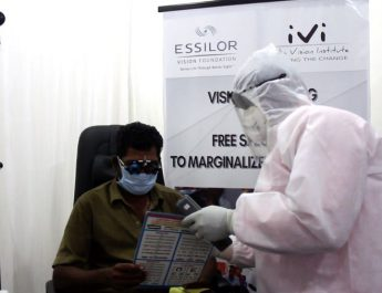 Essilor Vision Foundation - India Vision Institute - Eye Care - Marginalized Communities in Chennai