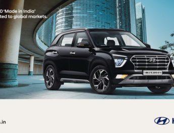 Hyundai exports over 2 Lakh CRETA for Global Markets