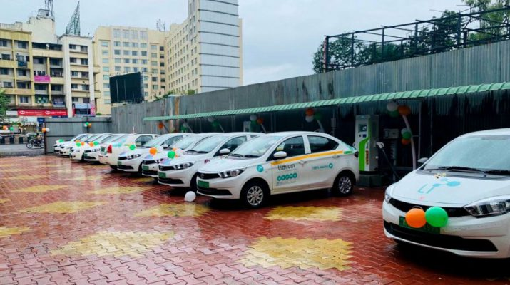Lithium Urban Technologies - Charging hub in Pune
