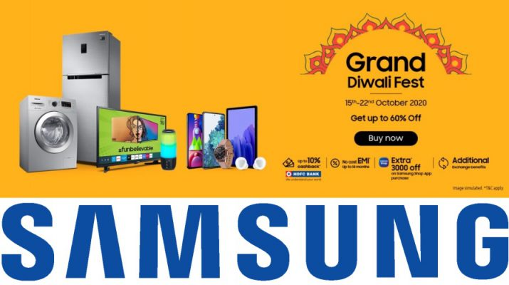 Samsung India - Festive Offers - Grand Sales