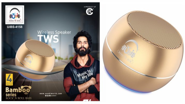 Uandi Bamboo Wireless Portable Speaker