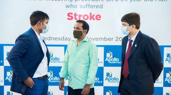 Apollo Hospitals Gives New Lease of Live to Young Stroke Patients
