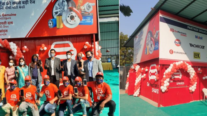 Automobile service provider GoMechanic opens a new spare parts franchise outlet in Ahmedabad
