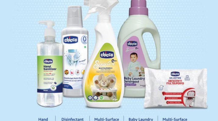 Chicco Hygiene Range for kids