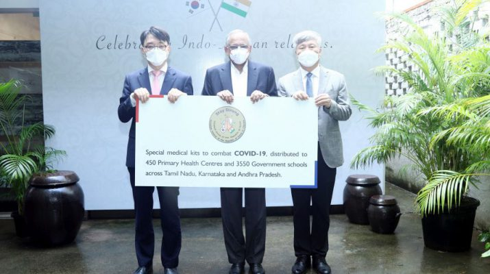 Consul General of the Republic of Korea - Goodwill Envoy - commemorate National Foundation Day