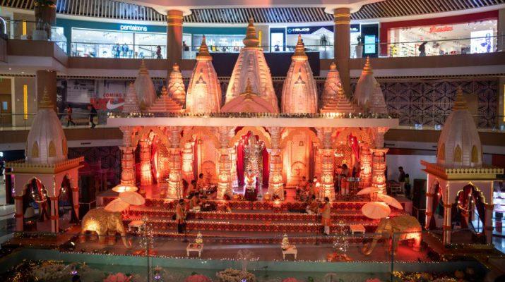 Dev Deepawali Celebration at Vegas Mall