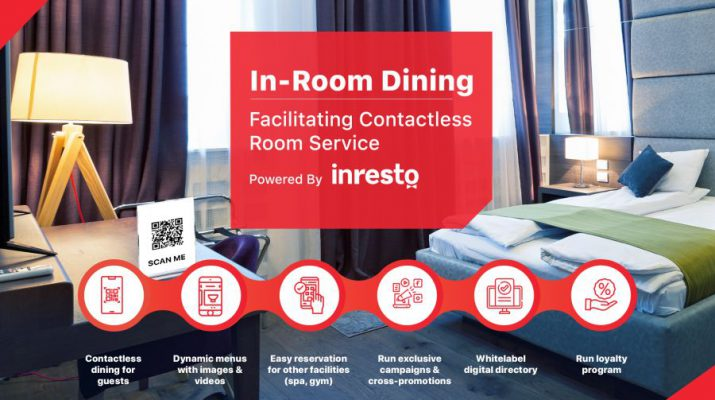 Dineout Introduces In-room dining technology for Hotels in India
