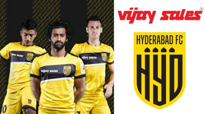 Hyderabad FC announce Vijay Sales as Associate Sponsor