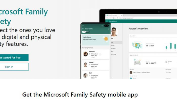 Microsoft Family Safety Mobile App