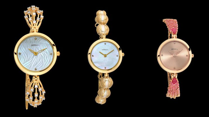 Nebula by Titan presents Ashvi - 18K Solid Gold Watches for the Festive Season