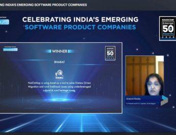 NotOnMap - NASSCOM Emerge 50 Awards 2020 - Bharat Award