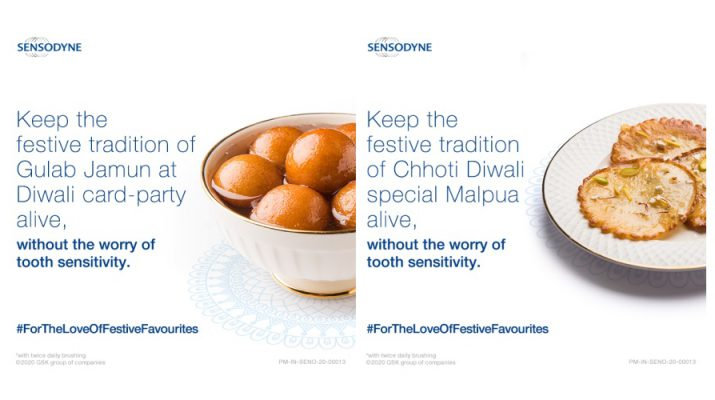 Sensodyne encourages people to keep their traditions alive without worrying about tooth sensitivity